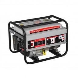Электростанция бензиновая синхронная ЭБ-2500 Интерскол, 3600об/мин, ручной стартер, ном 2кВт, макс 2