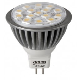 Лампа Gauss MR16 4W GU5.3 2700K EB101005104-D