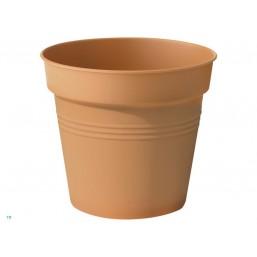 Горшок green basics growpot 13см terra с поддоном saucer 10cm terra