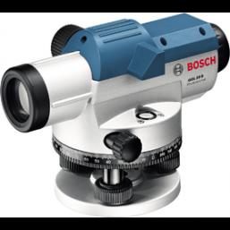 Оптический нивелир 0601068400 Bosch GOL 20 D, Увеличение: 20-кратное. Точность по высоте при отдельн