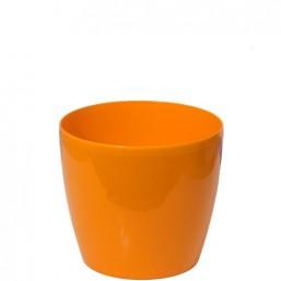 Горшок Магнолия 100мм без поддона, оранжевый