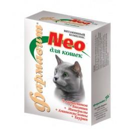 Фармавит НЕО для кошек и котов 60т. кастраты