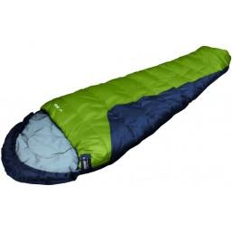 Спальный мешок High Peak Safari (цвет:темно-зел,свет-зел) 23051