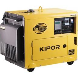 Дизельный генератор в тихом кожухе KIPOR KDE6700TA+KEA40026DP52A