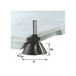 Фреза для профилирования фасок HW с хвостов. 12 мм 492667