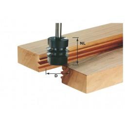 Фреза для сращивания HW с хвостовиком 8 мм 491034