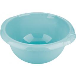 Таз пластмассовый круглый 18л, голубойТМ Elfe light 92981