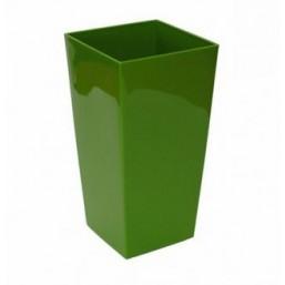 Кашпо Финезия 190х190мм, зеленый