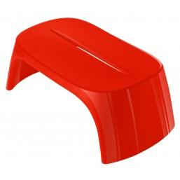 Скамейка пласт. Amelie Panchetta, красная, 108x60см, h-43 (SDAPA108D)   SLIDE Италия