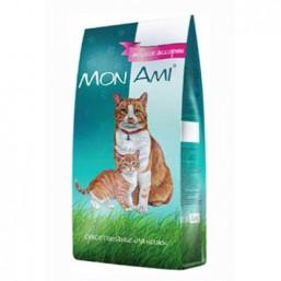 МонАми для взрослых кошек МЯСНОЕ АССОРТИ  10кг МКБ