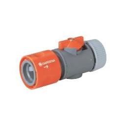 "Коннектор с регулятором 19 мм (3/4"") и 16 мм (5/8""), без упаковки Gardena 00943-50.000.00"