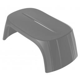 Скамейка пласт. Amelie Panchetta, серый, 108x60см, h-43 (SDAPA108G)   SLIDE Италия