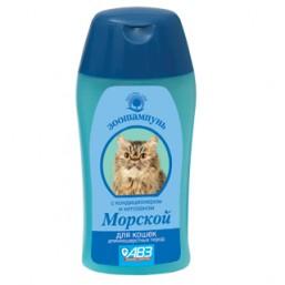 Шампунь Морской для кошек длинношерстных с кондиционером