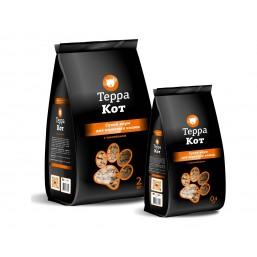 Корм Терра Кот для взрослых кошек с цыпленком 0,4 кг.