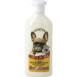 Шампунь Биовакс для собак жесткошерстных 335мл