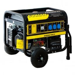 Генератор бензиновый Firman FPG8800E2  6кВт, тележка, эл. стартер