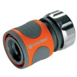 """Коннектор с автостопом Premium 13 мм (1/2""""), в упаковке Gardena 08168-20.000.00"""