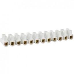 Колодки СВЕТОЗАР зажимные винтовые (КЗВ), макс. ток 6А, сечение подкл. проводов 6мм2