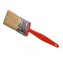 """Кисть плоская ЗУБР """"БСГ-50"""", с быстросъемной головой,  натуральная щетина, пластмассовая ручка, 50мм"""