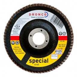 5212304 шлифовальные диски G AZ K40 125x22,23 Dronco