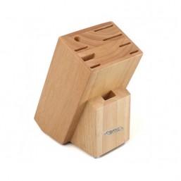 6993 GIPFEL Подставка для хранения ножей 9 slots 17х12х22 см (дерево)