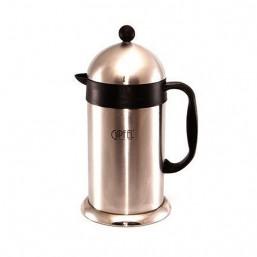 5386 GIPFEL Кофейник с двойными стенками 1000 мл (нерж.сталь + пластик)