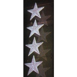 Гирлянда 4 звездочки d80см, PHS-053-24V,  RI GE