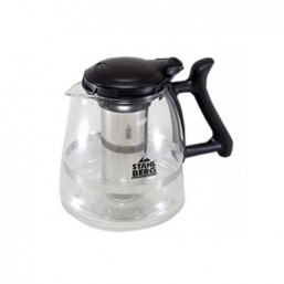 7222-S STAHLBERG Стеклянный заварочный чайник с фильтром 211*148*168mm 1500ML