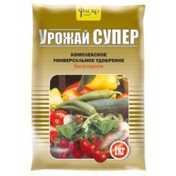 Удобрение минеральное сухое Фаско® тукосмесь Урожай-SUPER 1кг.