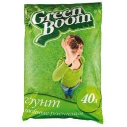 Почвогрунт Green Boom® Хвойные растения Специализированный 40л. (50шт.)