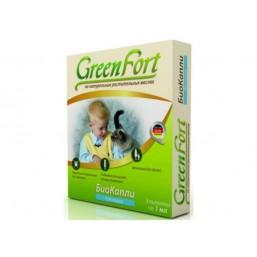 Green Fort БиоКапли от блох  для кошек 3*1мл