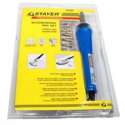 """Прибор STAYER """"MASTER"""" для выжигания с набором насадок, 6шт"""