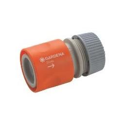 """Коннектор с автостопом 13 мм (1/2""""), без упаковки Gardena 00913-50.000.00"""