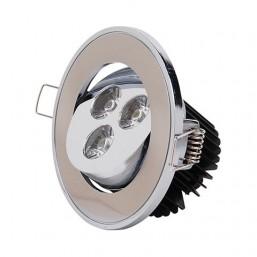 SPOT светильник LED HL673L 3*1W 6400K