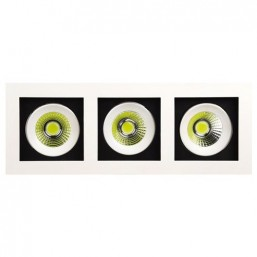 SPOT светильник LED HL6723L 3*8W 6400K