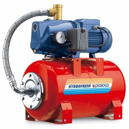 Гидрофор с цилиндрической емкостью латун. раб. колесо Pedrollo JCRm 10H- 50CL