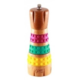 2805 GIPFEL Мельница для перца 25.9*5.9*16.8cm (дерево, силикон)