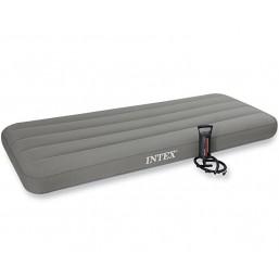Надувной матрас Intex Roll N Go Bed 191*76*18 + ручной насос 69710