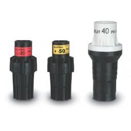 Комплект из 6 пластиковых конических форсунок для SR2005 (21, 23, 26, 28, 30, 33 мм) Rain Bird L0025
