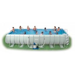 Каркасный сборный бассейн Intex Ultra Frame Pool. 732х366х132