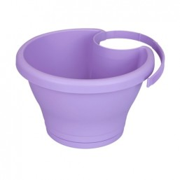 Горшок для столбов Corsica Drainpipe Clicker 24см soft lavender