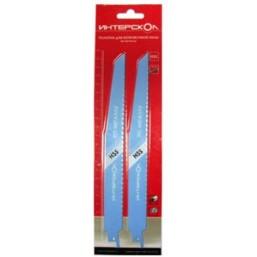 Полотна для ножовочной пилы по металлу 152*130*1,8 мм (2 шт.) Интерскол 2211912800181