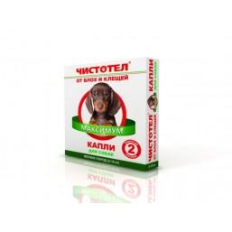 Чистотел Капли от блох для собак 4 дозы