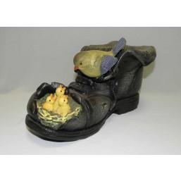 Горшок Гнездо на коричневом ботинке HA9005-1N(Р2)