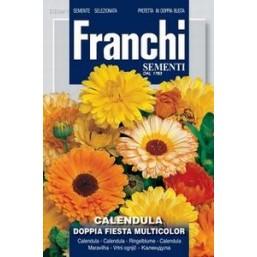 Календула махровая Doppia Fiesta, смесь (2 гр)  VXF 309/1   Franchi Sementi