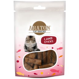 ARATON  Snack for cats lamb sticks 50g