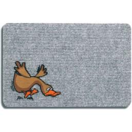 """Коврик полипропил. Flocky """"Утка"""", 40x60, серый 205-071  HAMAT  Голландия"""