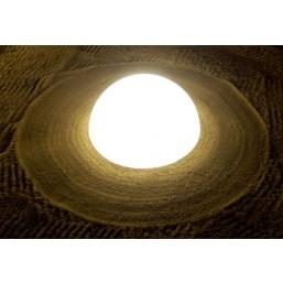 Лампа полусфера Mezza Sfera Tav Bianco, d-35, base E12 (LPMSE036A)   SLIDE Италия