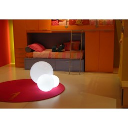 Лампа Globo Tav Bianco, d-40, base E12 (LPSFE041A)   SLIDE Италия