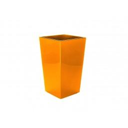 Кашпо Финезия 250х250мм, цвет оранжевый  Польша